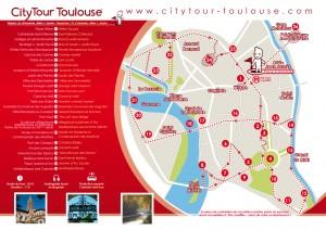 Dépliant Citytour Toulouse