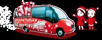 bus + personnages citytour Noël