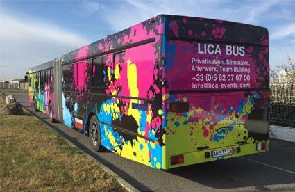 LICA Bus disco bus