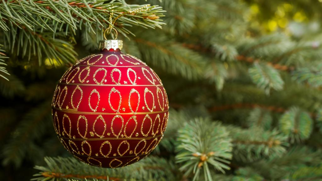 Décoration du sapin de Noël Nordmann