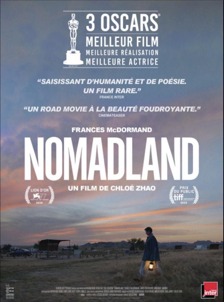 affiche cinema Nomadland
